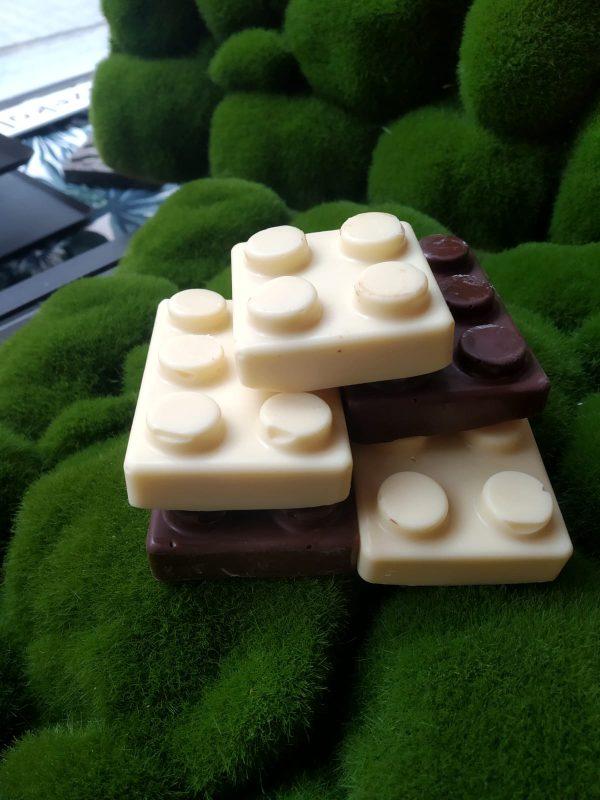 lego z czekolady